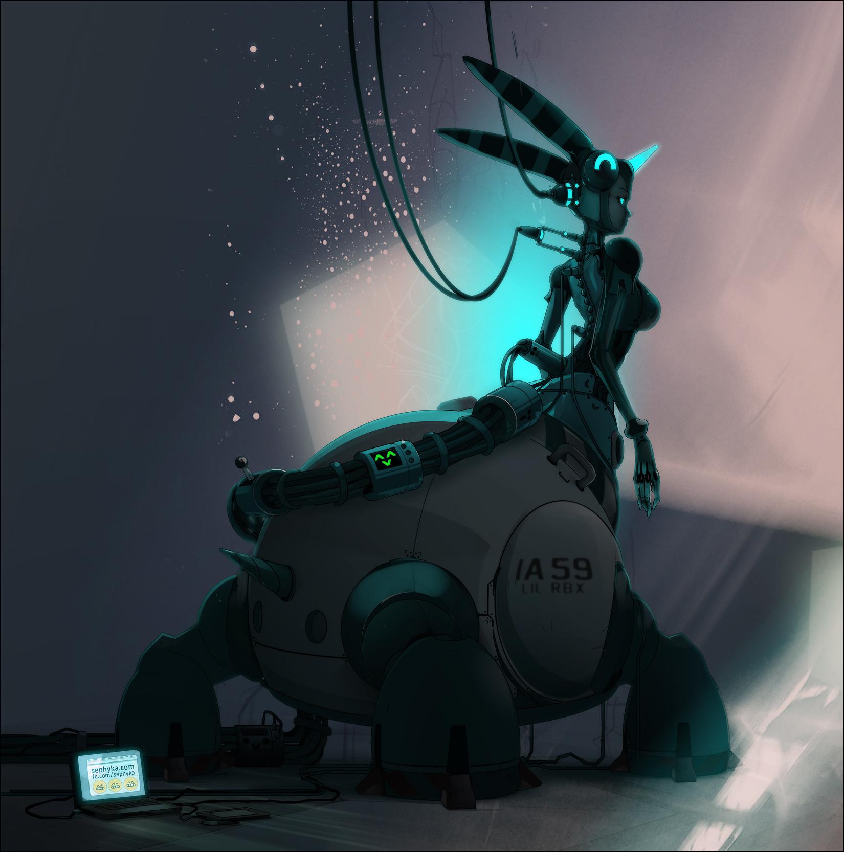 Character-Design Challenge - Centaure..