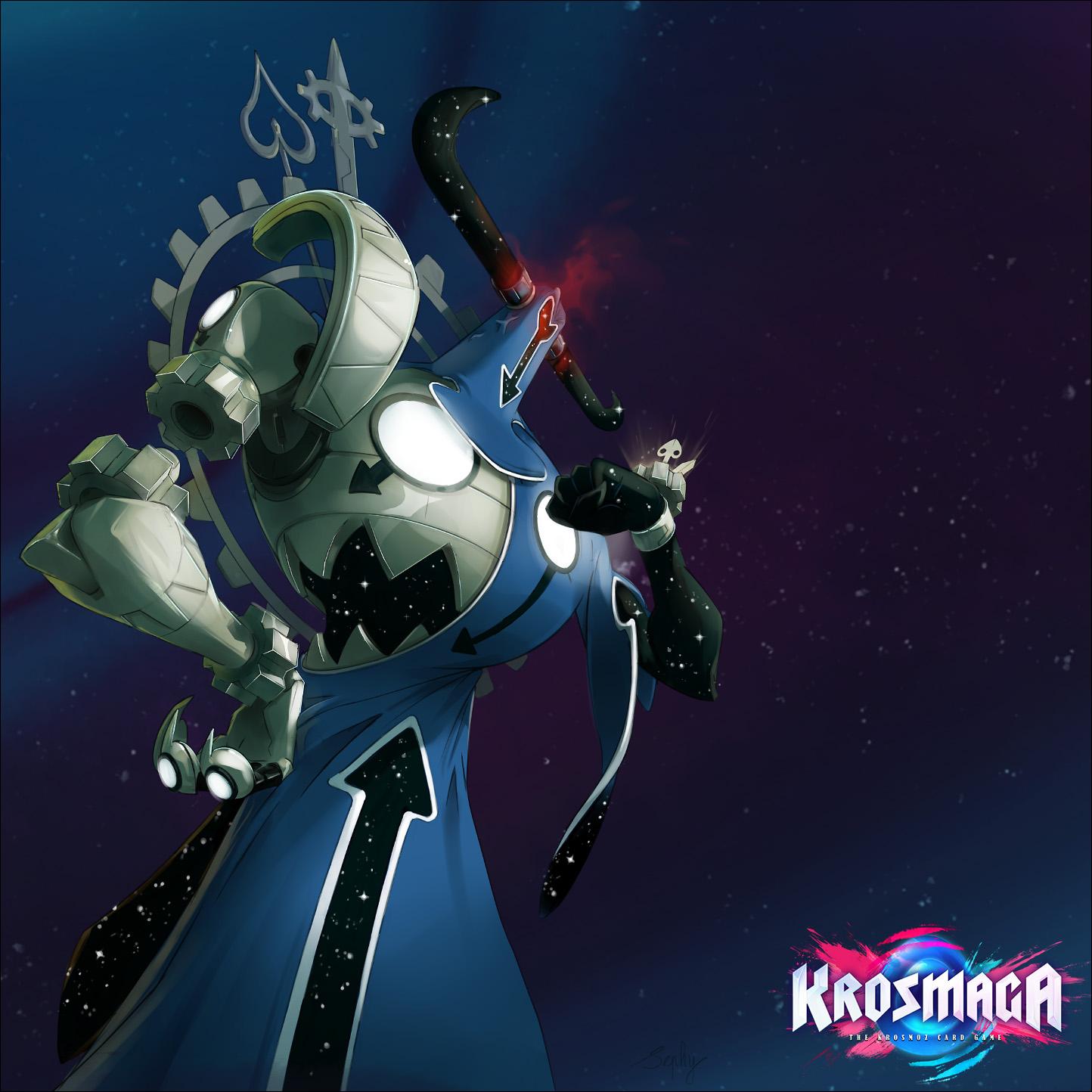 Krosmaga - God illustration: Xelor Versus.
