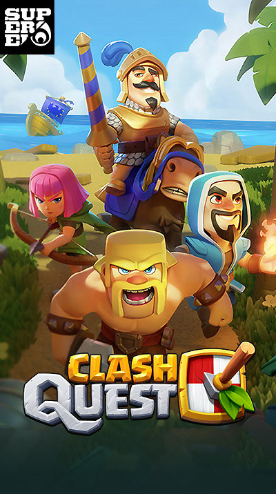 SUPERCELL - Clash Quest